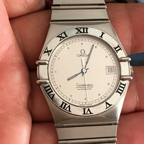 Omega Constellation Automático Chronometer Safira Date