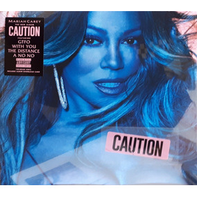 Lp Mariah Carey Caution Vinil Preto Lacrado