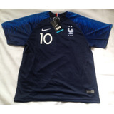 Kit Infantil França  10 Mbappe - Tam. 10 Anos - P. Entrega 10ce9b313c038