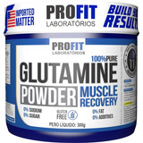Glutamina 100% Pura Powder 300g - Profit Labs