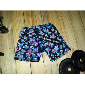 357022208e93c Short Deportivo Para Dama Talla Xl Marca Emotions Floreado A