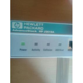 Router Switch Hp Advancestack Hp J2610a 8 Puertos