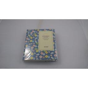 Álbum De Fotos Da Instax Mini 7 8 E 9 64 Fotos Azul Florido