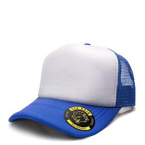 b3c3d1c64c04c Gorra Trucker Negra Lisa - Accesorios de Moda de Hombre Azul en ...