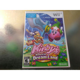 Juego De Wii Original,kirbys Return To Dream Land Sin Manual