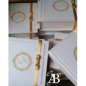 Caixa Convite Padrinho 15x15x5