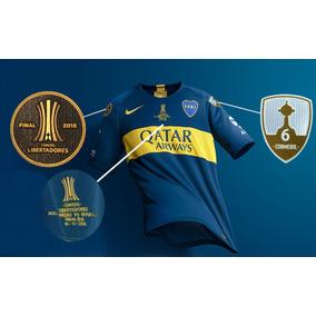 Camiseta De Boca Juniors Match 2018 Copa Libertadores
