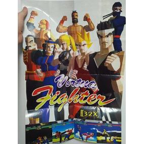 Pôster Virtua Fighter Mega Drive 32x