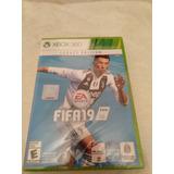 Fifa 19 Xbox 360 Nuevo Sellado Disco Fisico Barato