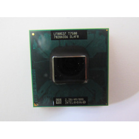 Intel Core 2 Duo T7500 Cache 4mb 2.20ghz 800mhz Fsb Notebook