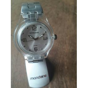 8cae38dafd9 Lindo Relogio Mondaine Estilo Swatch - Relógios De Pulso no Mercado ...