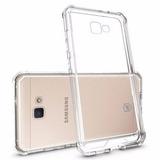 Capa Silicone Ant-shock Samsung A7 2018 +2 Peliculas Vidro