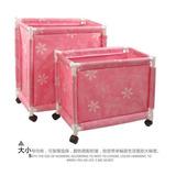 L - Pink - Carrito Cesta Cesto Clasificador Almacenaje -7065