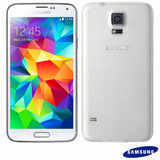 Smartphone Samsung Galaxy S5 16gb 16mp - Branco (vitrine)