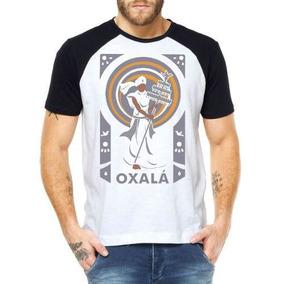 Camisetas Masculinas Oxalá Umbanda Ogum Africanos Religião 15d24b45e33