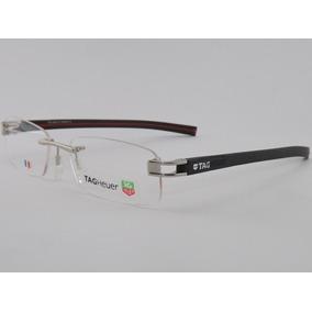Armação P/ Óculos De Grau Sem Aro Tag Heuer 2018