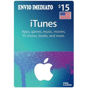 Cartao Apple Itunes 15 Dólares Usd