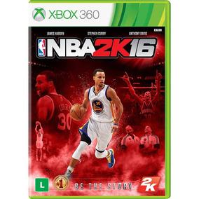 Nba 2k16 - Xbox 360 - Mídia Física