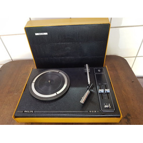 Vitrola Philips 503 - Funcionando