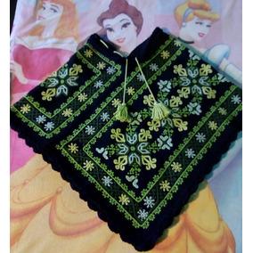 Capas Mazahuas Para Mujer, Bordadas A Mano.