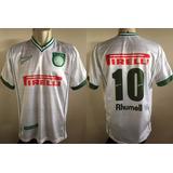 Camisa Rhumell Pirelli Palmeiras Branca 2001 2002