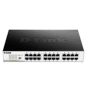 Switch D-link 24 Portas 10/100/1000mbps Gigabit Dgs-1024d