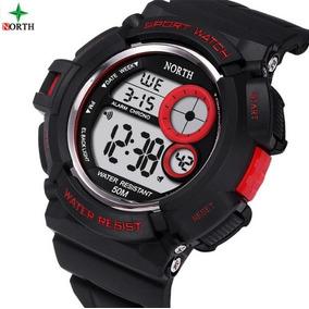 Relógio Masculino North Estilo Cassio G-shock - Promoção
