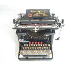 Máquina Escrever Antiga Remington 12 Restaurada +12 Fitas