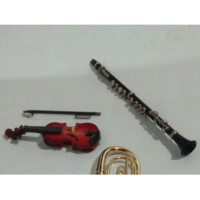 Revista Salvat C Miniaturas Instrumentos Musicais .