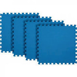Eva Tatame 59x59 4 Pecas Azul Vmp