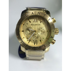 Relógio Atlantis Dourado