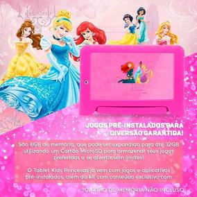 Tablet Multilaser Princesas Plus 7p Quad 8gb 2c Rosa - Nb281