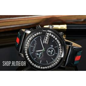 ef85365170c Original Relogio Gucci - Relógios De Pulso no Mercado Livre Brasil