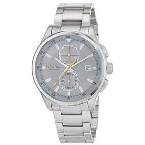 Reloj Nautica Acero Inoxidable Para Hombres Nuevo Original cd50766625d1