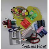 Kit De Costura (aguja Tijera Canasta Hilos Centímetro)