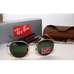 Rayban Round Rb3447 Redondo Unissex Metal Top - Várias Cores 9bc7fc00ee