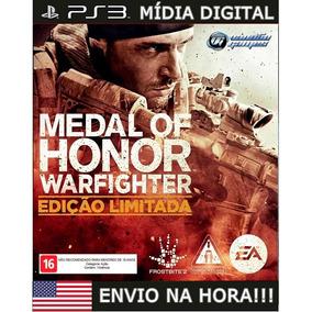 Medalha De Honra Warfighter Ps3 Psn Envio Na Hora Promoção!