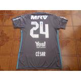 a6b720f547 Camisa Goleiro Flamengo Jogo Libertadores César 24 M