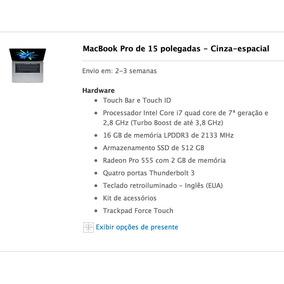 Macbook Pro 2017 15