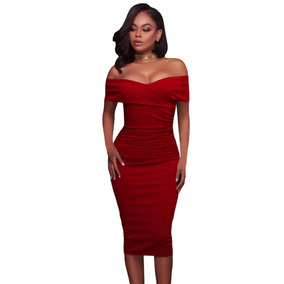 Vestido Rojo Quemado - Vestidos de Mujer en Mercado Libre México 4dcac62f9699