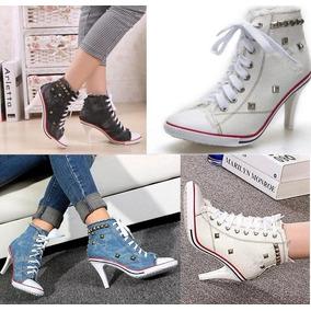 217563b1369 Tenis Salto Alto Nike Feminino - Calçados