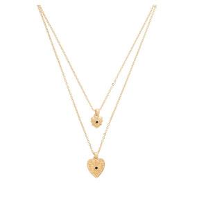 Nice Collar Corazon Sevillano 119082 En 4 Baños De Oro 18 K
