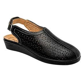Zapatos Aqualetas 618 Negro Dama Oi