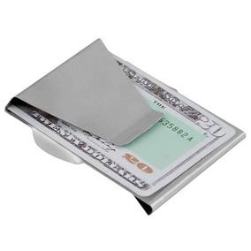 Cartera Clip Para Billetes Y Tarjetas / Billetera Tarjetero