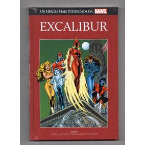 Coleção Livro Marvel Heroes Ed. 85 Excalibur