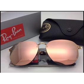 be2663056ab97 Oculos Ray Ban Hexagonal Blaze Rose - Óculos no Mercado Livre Brasil