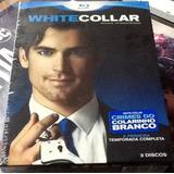 Box Blu-ray : White Collar 8º Temporada Original - 3 Discos