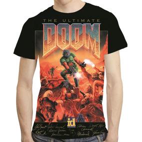 Camisa Game Camiseta The Ultimate Doom - Estampa Total