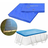 Cobertor Cubre Pileta Lona Piscinas 220x180 Exahome Oferta