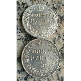 Moedas De 1 Rublo Russia